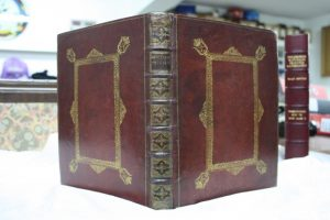 Newton - book and box post conservation